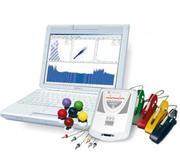 Cardiograph,  doppler,  encephalograph,  miograph,  rheograph,  Carlow