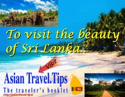 COME AND VISIT THE BEAUTY OF SRI LANKA